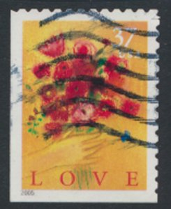 USA SC# 3890 Used    Love  2005  see scan