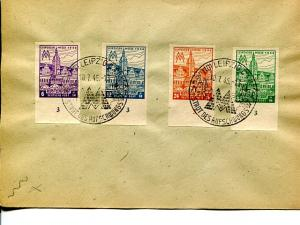 Allied Occupation Soviet Zone perf and imperf sets VF