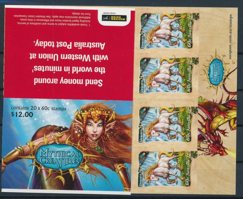 [I621] Australia 2011 Legends  good complete booklet very fine adhesive