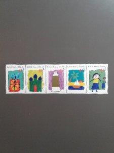 Cocos Islands 326 VF MNH strip of 5 different (Yr: 1998) Scott $ 4.00