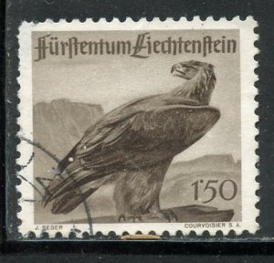 Liechtenstein # 225, Used. CV $ 19.00
