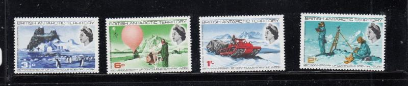 BRITISH ANTARCTIC TERRITORY MNH 5 SETS POST OFFICE FRESH CAT VALUE $46+
