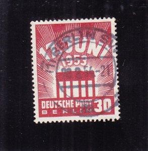 Germany-Berlin: Sc #9N100, Used (S18429)