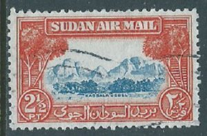 Sudan, Sc #C36, 2-1/2pi Used