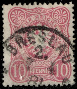 Germany #39 Imperial Eagle; Used (3Stars)