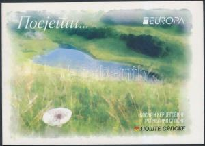 B&H Serbian Republic stamp Europa CEPT, Attractions stamp-booklet 2012 WS187410