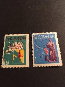 Albania sc 630,631 MNH