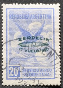 DYNAMITE Stamps: Argentina Scott #C25 – USED