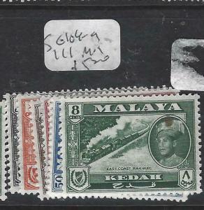 MALAYA  KEDAH  (P0704BB)  TRAIN 8C SG 104-9, 111   MOG