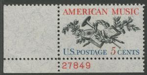 STAMP STATION PERTH USA #1252  MLH OG 1964  CV$0.25.