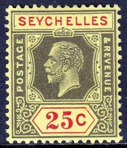 Seychelles - Scott #106 - MH - Die II - Mult Script CA Wmk - SCV $3.00