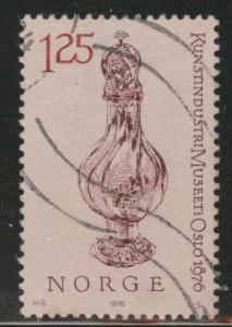 Norway Scott 673 used stamp 1976
