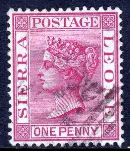 Sierra Leone - Scott #23 - Used - SCV $1.10