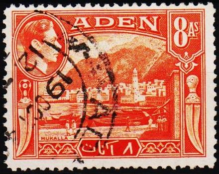 Aden.1939 8a  S.G.23 Fine Used