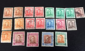 Old New Zealand stamps