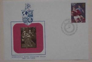 GREAT BRITAIN  GOLD FOIL SPORTS