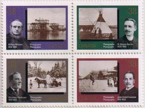 Canada Mint VF-NH #1240a Canadian Photography block/4