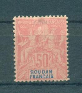 French Sudan sc# 16 (tuin) mhr cat value $52.50