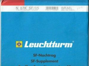 Lighthouse Leuchtturm Supplement N87K SF/05 Israel Miniature Sheets