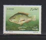 Algeria MNH sc# 1421 Fish 2012CV $1.00
