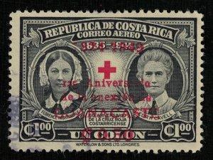 Costa Rica, 1 colon, 1945, overprinted (T-7058)