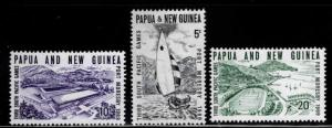 PNG Papua New Guinea Scott 284-286 MNH**  set