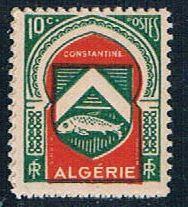 Algeria 210 MLH Constantine 1947 (A0294)+