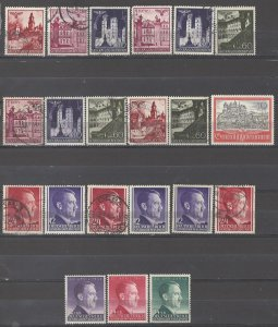 COLLECTION LOT # 5337 GERMANY 21 POLAND OCCUPATION MNH/USED 1940+ CLEARANCE