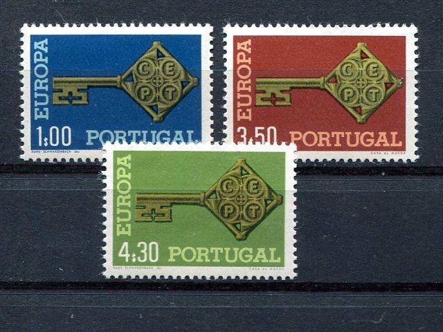 Portugal  Europa 1968 Mint VF NH