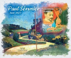 SOLOMON ISLANDS 2013 SHEET SERUSIER ART PAINTINGS slm13224b