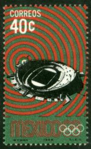 MEXICO 997, 40c 1968 Olympics, Mexico City. Mint, NH