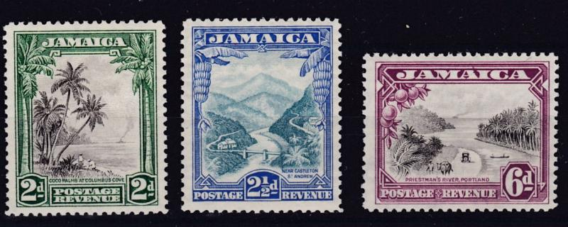 Jamaica 1932 Scenes Complete (3) Very Light Hinge/VF