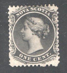 NOVA SCOTIA #8, F/VF,  Used .  CV 7.50   ....   4590003
