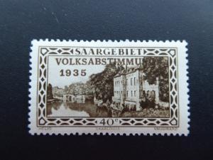 Germany  Saargebiet 1934  Sc.# 144