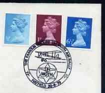 Postmark - Great Britain 1979 cover bearing illustrated c...