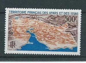 Afars & Issas C53 1968 Aerial Map single MNH