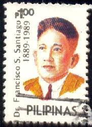 Dr. Francisco Santiago, Composer, Philippines SC#1998d used