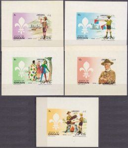 1971 State of Oman BLux(5) Scouts