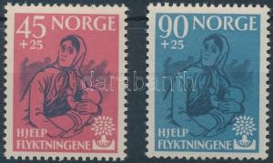 Norway stamp Year of the worlds refugees set 1960 MNH Mi 442-443 WS207226