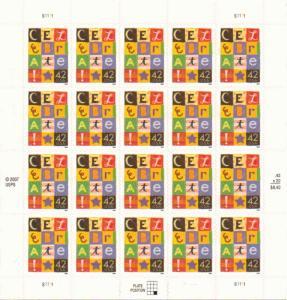 US 4335 - 42¢ Celebrate Unused