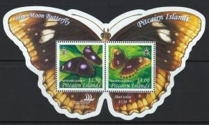 Pitcairn Islands Scott 615 MNH! Blue Moon Butterfly! Cmplt Set!