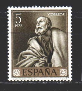 Spain. 1963. 1392 from the series. St. Peter. MNH.
