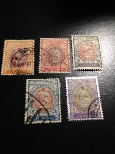 Persia sc 448, 451-452, 454-455 m+uhr