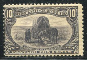 1898 US Stamp #290 A105 10c Mint Original Gum Trans-Mississippi Expo Value $135