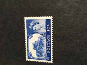 G.B. 2015 Scott #373 Mint VF-NH Cat. $14. 1963 Bradbury Wilkinson 10/ Bl. Castll