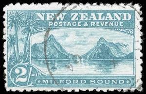 New Zealand Scott 121 Gibbons 269a Used Stamp