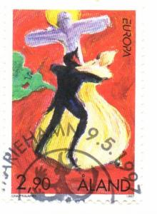 Aland Sc  135 1997 Europa stamp used