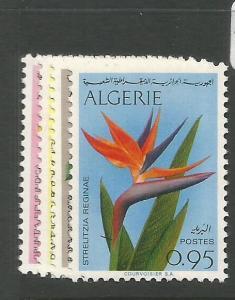 Algeria SC 1969 Flowers 411-4 MNH (6cyk)