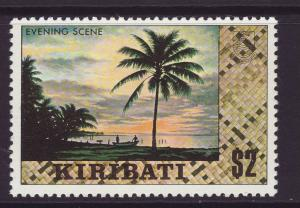 1980 Kiribati $2 Night Scene No Wmk Mint
