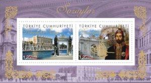 TURKEY 2015 - DOLMABAHCE PALACE, OTTOMAN, ISTANBUL, SULTAN ABDULMECID